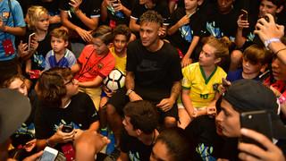 Máxima expectación para ver Neymar Jr en Miami