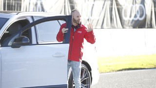 The Barça players get their new Audis