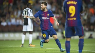 The Messi show begins