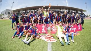 FC Barcelona 4 - Atlètic de Madrid 1 (Copa de la Reina)