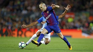 Iniesta finds the back of the net