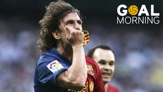 Goal Morning! Carles Puyol We hope all your dreams come true as you helped ours come true! Happy birthday!