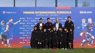 La séptima edición del Torneo Internacional FCBEscola