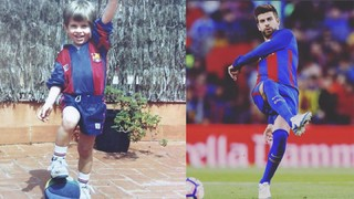 Gerard Piqué's top moments at Barça Academy