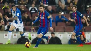 FC Barcelona 2 - Leganés 1 (3 minutos)