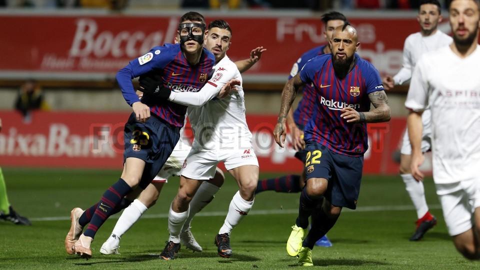 صور مباراة : كولتورال ليونيسا - برشلونة 0-1 ( 31-10-2018 ) كأس ملك إسبانيا 101924316