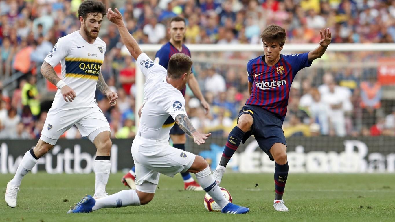 صور مباراة : برشلونة - بوكا جونيورز ( 16-08-2018 )  95975133
