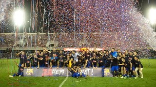 Barça B controlled the game throughout and made their first-leg victory at El Sardinero count to secure promotion to Spain's second tier