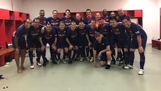 Seleçao Pernambuco 0 - Barça Legends 1 (Resumen amistoso)