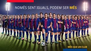 El FC Barcelona, amb el Dia Internacional de la Dona