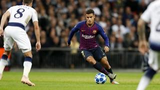 Tottenham -  FC Barcelona (2 minuts)