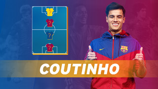 My Top 4: Coutinho reveals his heroes