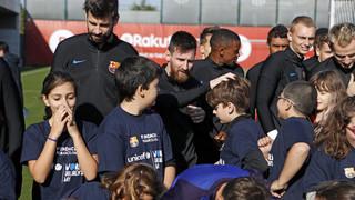 El Barça i la seva Fundació s'afegeixen a la campanya globlal de l'UNICEF