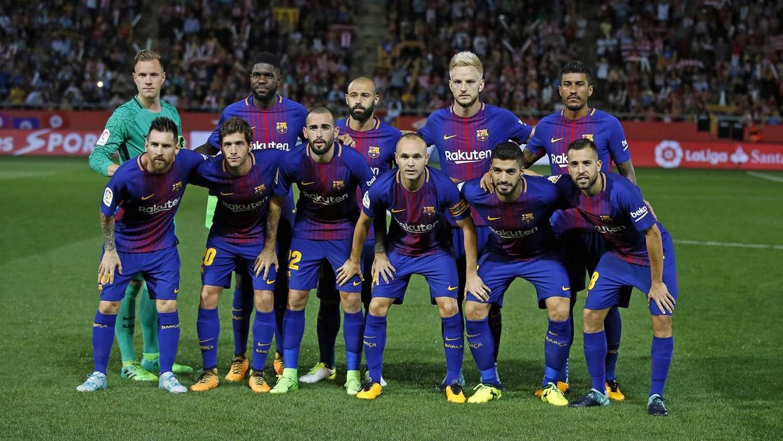 [Ảnh] Girona - Barça (0-3)