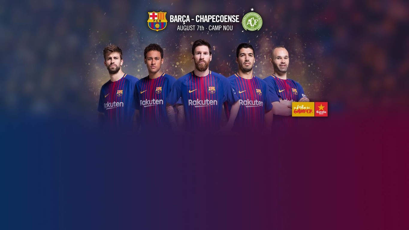 Barça's traditional summer match at Camp Nou has been confirmed, with the Brazilian side that suffered a tragic plane crash last November being this year's invitee