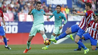 Messi strike sinks Atleti