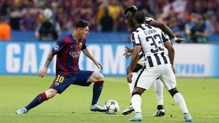 Juventus 1 - FC Barcelona 3 (3 minutos)