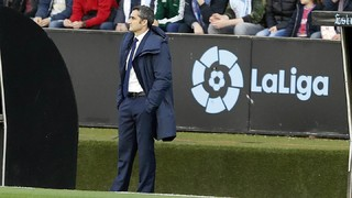 Ernesto Valverde: 'We are two wins away from the title'