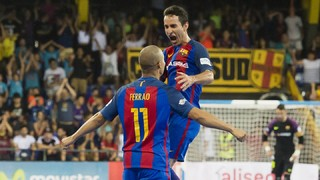 FC Barcelona Lassa 6 - Movistar Inter 1 (Final Playoff LNFS)