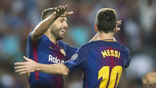 Jordi Alba and Semedo's post-game reaction to the Champions League clash with Juventus