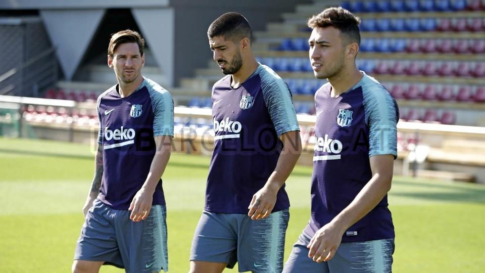 تدريبات مكثفة في برشلونة استعداداً لمباراة الأحد ضد جيرونا 21-09-2018 99236577
