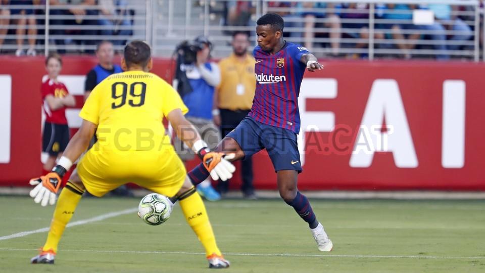 صور مباراة : برشلونة - ميلان 0-1 ( 05-08-2018 )  95385826