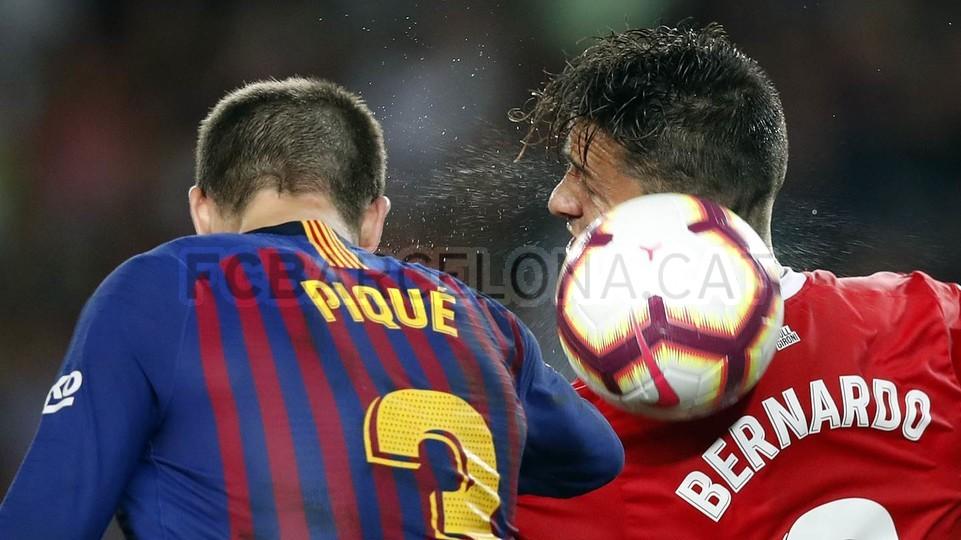 صور مباراة : برشلونة - جيرونا 2-2 ( 23-09-2018 )  99596514