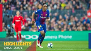 FC Barcelona 0 - Getafe 0 (1 minuto)