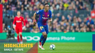 FC Barcelona 0 - Getafe 0 (1 minute)