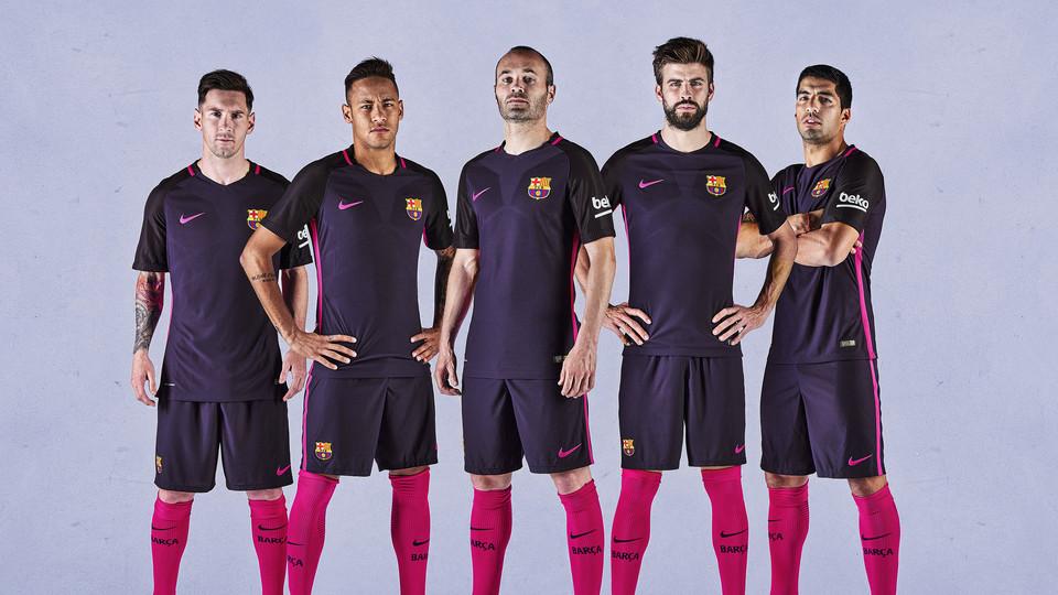 Maillot Extérieur FC Barcelona ÉQUIPE