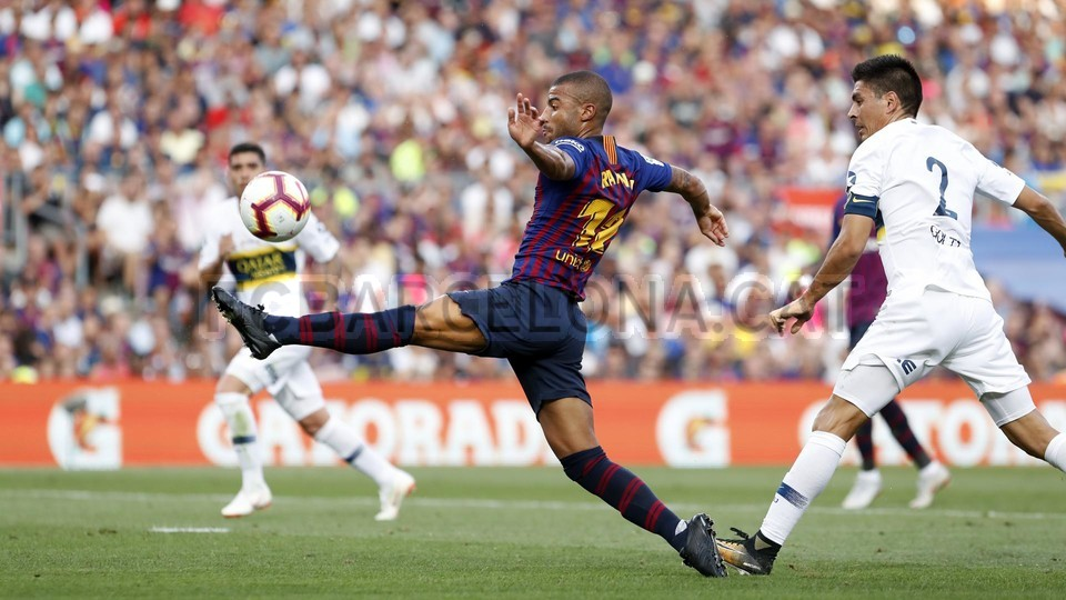 صور مباراة : برشلونة - بوكا جونيورز ( 16-08-2018 )  95975139