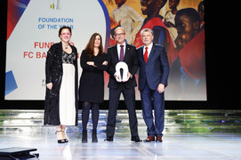The annual international awards celebrate those organisations and persons who have contributed to peace and dialogue through sport.