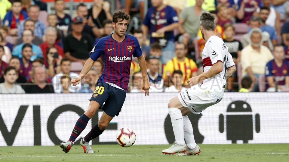 صور مباراة : برشلونة - هويسكا 8-2 ( 02-09-2018 )  97434852