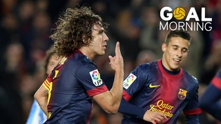 Goal Morning: How many goals did Carles Puyol score with Barça?