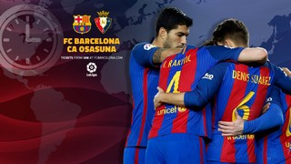A global guide to help you find the right time and channel to watch Barça's upcoming league game in your part of the world