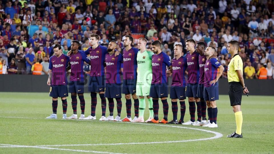 صور مباراة : برشلونة - جيرونا 2-2 ( 23-09-2018 )  99533797