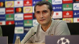 """Ernesto Valverde: """"Tenim una gran il·lusió per guanyar la Champions, com tots els equips"""""""