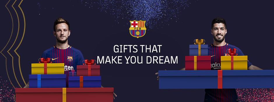 Barça Christmas gifts