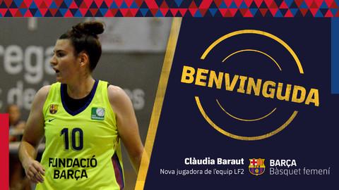 Clàudia Baraut una de les últimes peces del bàsquet femení