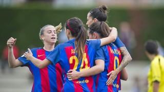 Femení A 13 - Oiartzun 0 (Liga)