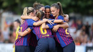FC Barcelona Femení – CF Pardinyes: Golejada i a la final de la Copa Catalunya! (9-0)