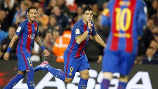 Sizzling Barça keep up the heat