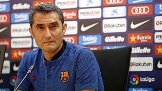 Valverde falou sobre a dificuldade de enfrentar o time andaluz, mesmo em se tratando do último colocado