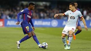 Celta de Vigo - FC Barcelona (1 minuto)
