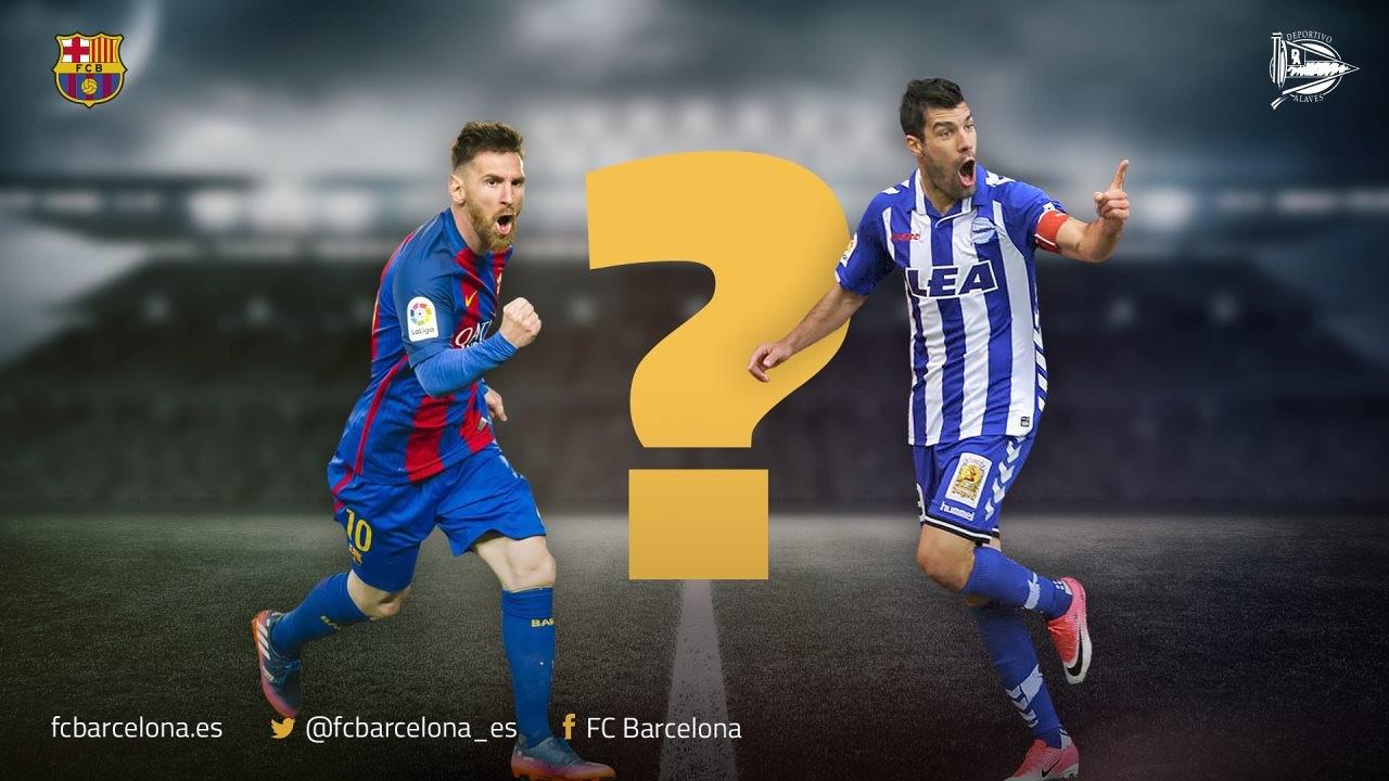 Demuestra tus habilidades con el test que te hemos preparado sobre la final de Copa entre el Barça y el Alavés de este sábado