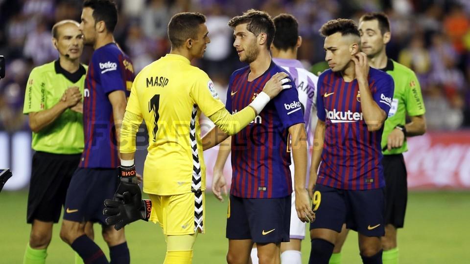 صور مباراة : بلد الوليد - برشلونة 0-1 ( 25-08-2018 )  96710886