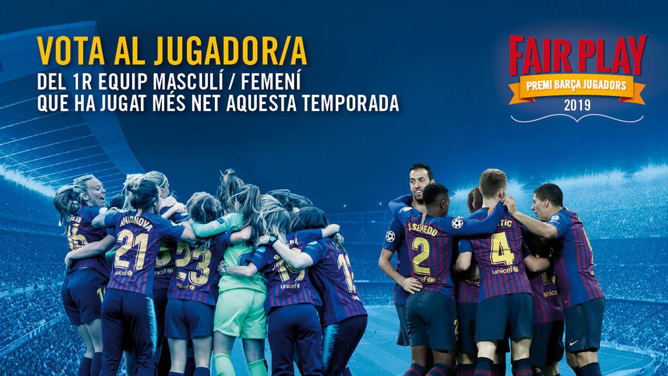 Fins el 25 de juny està oberta la campanya popular de votacions, que a partir d'aquesta edició inclou també el FCB Femení