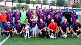 Els exjugadors del FC Barcelona juguen a Badalona per una nena de 3 anys amb una malaltia minoritària