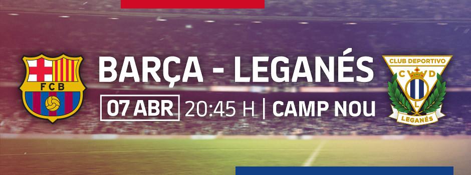 Entrades oficials Barça VS Leganés