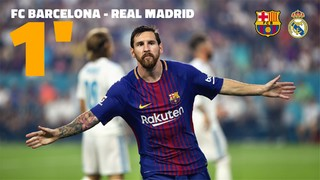 FC Barcelona 3 - Real Madrid 2 ICC 2017 (1 minute)